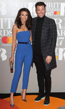 Michell Keegan Photo - London UK Michelle Keegan and Mark Wright at The BRIT Awards 2017 at The O2 Peninsula Square London on February 22nd 2017Ref LMK73-63022-230217Keith MayhewLandmark MediaWWWLMKMEDIACOM