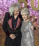 Anita Dobson Photo - London UK  Brian May and Anita Dobson at  the World Premiere of Bohemian Rhapsody at SSE Arena Wembley on October 23 2018 in London EnglandRef LMK386-J2845-241018Gary MitchellLandmark MediaWWWLMKMEDIACOM