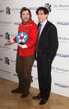 Nick Helm Photo - London UK  Nick Helm (with Breakthrough Award) and Stephen Mangan  at the  South Bank Sky Arts Awards Press room  at the Dorchester Hotel Park Lane on 27th January  2014  RefLMK73-46488-280114 Keith MayhewLandmark Media WWWLMKMEDIACOM