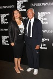 Alexandra Shulman Photo - London UK  Giorgio Armani and Alexandra Shulman at the Fashions Night Out - Giorgio Armani Party in partnership with Vogue held at Emporio Armani store New Bond Street London 8th September 2010Keith MayhewLandmark Media