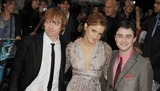 Robbie Coltrane Photo - London UK Rupert Grint Emma Watson and Daniel Radcliffe   at the World premiere of Harry Potter and the Half-Blood Prince held at the Odeon  Leicester Square Central London 7th July 2009Ali KadinskyLandmark Media
