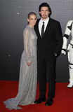 Adam Driver Photo - LondonUK Joanne Tucker and Adam Driver at the Star Wars The Force Awakens - European Premiere at Leicester Square  16th December 2015Ref LMK73-59062-171215Keith MayhewLandmark Media WWWLMKMEDIACOM