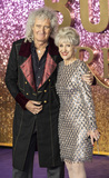 Anita Dobson Photo - London UK  Brian May and Anita Dobson at  the World Premiere of Bohemian Rhapsody at SSE Arena Wembley on October 23 2018 in London EnglandRef LMK386-J2845-241018Gary MitchellLandmark MediaWWWLMKMEDIACOM