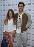 Andy Jones Photo - London UK Louise Thompson and  Andy Jones   at the OK Magazine Summer Party  Wild Tigers and Tiaras London ZooRegents Park London  25th June  2013RefLMK386-44538-260613   Gary MitchellLandmark Media WWWLMKMEDIACOM