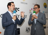 Alan Carr Photo - LondonUK Jimmy Carr and Alan Carr   at BGC Charity Day 2019 at Canary Wharf London 11th September 2019RefLMK73-S2830-120919Keith MayhewLandmark MediaWWWLMKMEDIACOM