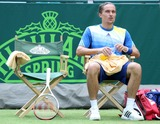 Alexandr Dolgopolov Photo - Stoke Park Buckinghamshire UK  Alexandr Dolgopolov (Ukraine) plays Sam Querrey (USA) at The Boodles Tennis Challenge held at Stoke Park 21st June 2013 RefLMK73-44523-220613 Keith MayhewLandmark Media WWWLMKMEDIACOM