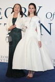 Jane Hawking Photo - London UK Jane Hawking and Felicity Jones at  UK Premiere of The Theory of Everything at the Odeon Leicester Square London on December 9th 2014Ref LMK73-50251-101214Keith MayhewLandmark Media WWWLMKMEDIACOM