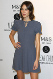 Alexa Chung Photo - London UK Alexa Chung at the photocall for the launch of  her new  collection for Marks  Spencer  at MS Marble Arch London UK 13 April 2016Ref LMK394-60179-130416Brett CoveLandmark Media WWWLMKMEDIACOM