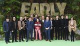 Reece Bibby Photo - London England 140118Johnny Vegas Eddie Redmayne Rob Byrdon Maisie Williams Tom Hiddleston Nick Park George Smith Blake Richardson Reece Bibby Carla Shelley and the crew of the film attend the Early Man World Premiere held at BFI IMAX 14 January 2017Ref LMK386-MB1114-140118Gary Mitchell  Landmark MediaWWWLMKMEDIACOM