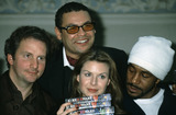 Craig Charles Photo - London UK LIBRARY L-R Chris Barrie Craig Charles Chloe Annett and Danny John-Jules Red Dwarf cast at a photocall to celebrate 10 years of the TV series  3rd March 1998 RECAP 05062020RefLMK11-SLIB050620-001PIP-Landmark MediaWWWLMKMEDIACOM