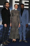 Ariyon Bakare Photo - London UK Jake Gyllenhaal Rebecca Ferguson and Ariyon Bakare at the Life film photo call at The Corinthia Hotel Whitehall Place London England UK on Thursday 16 March 2017Ref LMK315-63140-160317Can NguyenLandmark Media WWWLMKMEDIACOM