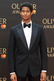 Alfred Enoch Photo - London UK Alfred Enoch at The Olivier Awards 2018 at the Royal Albert Hall Kensington Gore London on Sunday 08 April 2018Ref LMK73-J1865-090418Keith MayhewLandmark MediaWWWLMKMEDIACOM