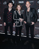 Madness Photo - LOS ANGELES CA USA - FEBRUARY 07 Tim Hanseroth Brandi Carlile and Phil Hanseroth arrive at the Warner Music Pre-Grammy Party 2019 held at The NoMad Hotel Los Angeles on February 7 2019 in Los Angeles California United States (Photo by Xavier CollinImage Press Agency)