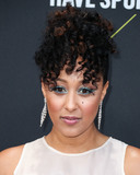Tamera Mowry Photo - SANTA MONICA LOS ANGELES CALIFORNIA USA - NOVEMBER 10 Actress Tamera Mowry-Housley wearing Cynthia Rowley arrives at the 2019 E Peoples Choice Awards held at Barker Hangar on November 10 2019 in Santa Monica Los Angeles California United States (Photo by Xavier CollinImage Press Agency)