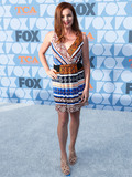 AUBREY DOLLAR Photo - LOS ANGELES CALIFORNIA USA - AUGUST 07 Actress Aubrey Dollar arrives at the FOX Summer TCA 2019 All-Star Party held at Fox Studios on August 7 2019 in Los Angeles California United States (Photo by Xavier CollinImage Press Agency)