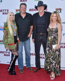 Victoria Pratt Photo - BURBANK LOS ANGELES CALIFORNIA USA - AUGUST 13 Gwen Stefani Blake Shelton Trace Adkins and Victoria Pratt arrive at the Los Angeles Premiere Of Forrest Films Bennetts War held at the Steven J Ross Theater at Warner Bros Studios on August 13 2019 in Burbank Los Angeles California United States (Photo by Image Press Agency)