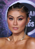 Agnez Mo Photo - LOS ANGELES CALIFORNIA USA - NOVEMBER 24 Agnez Mo arrives at the 2019 American Music Awards held at Microsoft Theatre LA Live on November 24 2019 in Los Angeles California United States (Photo by Xavier CollinImage Press Agency)