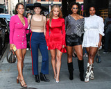 Redman Photo - MANHATTAN NEW YORK CITY NEW YORK USA - SEPTEMBER 04 Solange Vandoorn Danielle Redman Sailor Lee Brinkley-Cook Marquita Pring and Yvonne Simone arrive at the E ELLE and IMG NYFW Kick-Off Party 2019 held at The Top of The Standard on September 4 2019 in Manhattan New York City New York United States (Photo by Xavier CollinImage Press Agency)