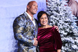 Ata Johnson Photo - HOLLYWOOD LOS ANGELES CALIFORNIA USA - DECEMBER 09 Actor Dwayne Johnson and mother Ata Johnson arrive at the World Premiere Of Columbia Pictures Jumanji The Next Level held at the TCL Chinese Theatre IMAX on December 9 2019 in Hollywood Los Angeles California United States (Photo by Xavier CollinImage Press Agency)