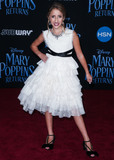 Ava Kolker Photo - HOLLYWOOD LOS ANGELES CA USA - NOVEMBER 29 Ava Kolker at the Los Angeles Premiere Of Disneys Mary Poppins Returns held at the El Capitan Theatre on November 29 2018 in Hollywood Los Angeles California United States (Photo by Image Press Agency)