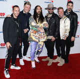 Brian Littrell Photo - LAS VEGAS NEVADA USA - SEPTEMBER 20 Howie Dorough Nick Carter Steve Aoki AJ McLean Brian Littrell and Kevin Richardson of Backstreet Boys arrive at the 2019 iHeartRadio Music Festival - Night 1 held at T-Mobile Arena on September 20 2019 in Las Vegas Nevada United States (Photo by David AcostaImage Press Agency)