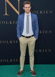 TY SIMPKINS Photo - WESTWOOD LOS ANGELES CALIFORNIA USA - MAY 08 Ty Simpkins arrives at the Los Angeles Special Screening Of Fox Searchlight Pictures Tolkien held at Regency Village Theatre on May 8 2019 in Westwood Los Angeles California United States (Photo by Image Press Agency)
