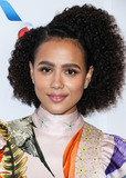 Nathalie  Photo - BEVERLY HILLS LOS ANGELES CALIFORNIA USA - SEPTEMBER 21 Actress Nathalie Emmanuel arrives at the BAFTA Los Angeles  BBC America TV Tea Party 2019 held at The Beverly Hilton Hotel on September 21 2019 in Beverly Hills Los Angeles California United States (Photo by Xavier CollinImage Press Agency)