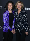 Lily Tomlin Photo - HOLLYWOOD LOS ANGELES CA USA - MARCH 16 Actresses Lily Tomlin and Jane Fonda arrive at the 2019 PaleyFest LA - Netflixs Grace and Frankie held at the Dolby Theatre on March 16 2019 in Hollywood Los Angeles California United States (Photo by Xavier CollinImage Press Agency)