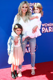 Amanda Stanton Photo - WESTWOOD LOS ANGELES CA USA - MARCH 10 Kinsley Buonfiglio Amanda Stanton and Charlie Buonfiglio arrive at the Los Angeles Premiere Of Paramount Animation and Nickelodeon Movies Wonder Park held at the Regency Village Theatre on March 10 2019 in Westwood Los Angeles California United States (Photo by Xavier CollinImage Press Agency)