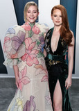 Lili Reinhart Photo - BEVERLY HILLS LOS ANGELES CALIFORNIA USA - FEBRUARY 09 Lili Reinhart and Madelaine Petsch arrive at the 2020 Vanity Fair Oscar Party held at the Wallis Annenberg Center for the Performing Arts on February 9 2020 in Beverly Hills Los Angeles California United States (Photo by Xavier CollinImage Press Agency)