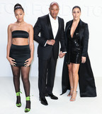 Dres Photo - HOLLYWOOD LOS ANGELES CALIFORNIA USA - FEBRUARY 07 Truly Young Dr Dre and Nicole Young arrive at the Tom Ford AutumnWinter 2020 Fashion Show held at Milk Studios on February 7 2020 in Hollywood Los Angeles California United States (Photo by Xavier CollinImage Press Agency)
