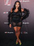 Angela Simmons Photo - HOLLYWOOD LOS ANGELES CALIFORNIA USA - JULY 18 Shoe designer Angela Simmons arrives at the Sports Illustrated Fashionable 50 held at Sunset Room Hollywood on July 18 2019 in Hollywood Los Angeles California United States (Photo by Xavier CollinImage Press Agency)