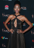 Charmaine Photo - WEST HOLLYWOOD LOS ANGELES CALIFORNIA USA - JANUARY 03 Charmaine Bingwa arrives at the 9th Annual Australian Academy Of Cinema And Television Arts (AACTA) International Awards held at SkyBar at the Mondrian Los Angeles on January 3 2020 in West Hollywood Los Angeles California United States (Photo by Xavier CollinImage Press Agency)