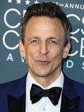 Seth Meyer Photo - SANTA MONICA LOS ANGELES CALIFORNIA USA - JANUARY 12 Seth Meyers arrives at the 25th Annual Critics Choice Awards held at the Barker Hangar on January 12 2020 in Santa Monica Los Angeles California United States (Photo by Xavier CollinImage Press Agency)
