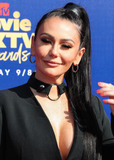 Jenni JWOWW Farley Photo - SANTA MONICA LOS ANGELES CALIFORNIA USA - JUNE 15 Television personality Jenni JWoww Farley arrives at the 2019 MTV Movie And TV Awards held at Barker Hangar on June 15 2019 in Santa Monica Los Angeles California United States (Photo by Xavier CollinImage Press Agency)