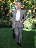 Kaley Cuoco Photo - PACIFIC PALISADES LOS ANGELES CALIFORNIA USA - OCTOBER 05 Actress Kaley Cuoco wearing a Missoni suit with Freda Salvador shoes arrives at the 10th Annual Veuve Clicquot Polo Classic Los Angeles held at Will Rogers State Historic Park on October 5 2019 in Pacific Palisades Los Angeles California United States (Photo by Xavier CollinImage Press Agency)