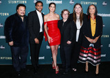 Camryn Manheim Photo - LOS ANGELES CALIFORNIA USA - SEPTEMBER 16 Adrian Martinez Michael Ealy Cobie Smulders Cole Sibus Camryn Manheim and Tantoo Cardinal arrive at the Los Angeles Premiere Of ABCs Stumptown held at Petersen Automotive Museum on September 16 2019 in Los Angeles California United States (Photo by Xavier CollinImage Press Agency)