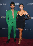 MIGUEL BOS Photo - BEVERLY HILLS LOS ANGELES CALIFORNIA USA - JANUARY 25 Miguel and Nazanin Mandi arrive at The Recording Academy And Clive Davis 2020 Pre-GRAMMY Gala held at The Beverly Hilton Hotel on January 25 2020 in Beverly Hills Los Angeles California United States (Photo by Xavier CollinImage Press Agency)