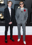 Beck Photo - LOS ANGELES CALIFORNIA USA - JANUARY 26 Cosimo Henri Hansen and Beck arrive at the 62nd Annual GRAMMY Awards held at Staples Center on January 26 2020 in Los Angeles California United States (Photo by Xavier CollinImage Press Agency)