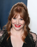 Bryce Dallas Photo - BEVERLY HILLS LOS ANGELES CALIFORNIA USA - FEBRUARY 09 Bryce Dallas Howard arrives at the 2020 Vanity Fair Oscar Party held at the Wallis Annenberg Center for the Performing Arts on February 9 2020 in Beverly Hills Los Angeles California United States (Photo by Xavier CollinImage Press Agency)