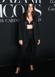 Julia Restoin-Roitfeld Photo - MANHATTAN NEW YORK CITY NEW YORK USA - SEPTEMBER 06 Julia Restoin-Roitfeld arrives at the 2019 Harpers BAZAAR Celebration of ICONS By Carine Roitfeld held at The Plaza Hotel on September 6 2019 in Manhattan New York City New York United States (Photo by Xavier CollinImage Press Agency)