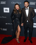 Shaggy Photo - BEVERLY HILLS LOS ANGELES CA USA - FEBRUARY 09 Rebecca Packer and musician Shaggy (Orville Richard Burrell CD) arrive at The Recording Academy And Clive Davis 2019 Pre-GRAMMY Gala held at The Beverly Hilton Hotel on February 9 2019 in Beverly Hills Los Angeles California United States (Photo by Xavier CollinImage Press Agency)