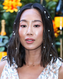 Aimee Song Photo - PACIFIC PALISADES LOS ANGELES CALIFORNIA USA - OCTOBER 05 Aimee Song arrives at the 10th Annual Veuve Clicquot Polo Classic Los Angeles held at Will Rogers State Historic Park on October 5 2019 in Pacific Palisades Los Angeles California United States (Photo by Xavier CollinImage Press Agency)