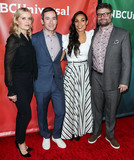Andy Greenwald Photo - PASADENA LOS ANGELES CALIFORNIA USA - JANUARY 11 Kim Dickens Andy Greenwald Rosario Dawson and Jay R Ferguson arrive at the 2020 NBCUniversal Winter TCA Press Tour held at The Langham Huntington Hotel on January 11 2020 in Pasadena Los Angeles California United States (Photo by Xavier CollinImage Press Agency)
