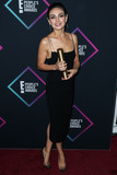Alex Perry Photo - SANTA MONICA LOS ANGELES CA USA - NOVEMBER 11 Actress Mila Kunis wearing an Alex Perry dress and Christian Louboutin shoes (styled by Rob Zangardi and Mariel Haenn) poses in the press room at the Peoples Choice Awards 2018 held at Barker Hangar on November 11 2018 in Santa Monica Los Angeles California United States (Photo by Xavier CollinImage Press Agency)