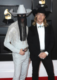 Diplo Photo - LOS ANGELES CALIFORNIA USA - JANUARY 26 Orville Peck and Diplo arrive at the 62nd Annual GRAMMY Awards held at Staples Center on January 26 2020 in Los Angeles California United States (Photo by Xavier CollinImage Press Agency)