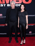 Avi Lerner Photo - MANHATTAN NEW YORK CITY NEW YORK USA - SEPTEMBER 18 Avi Lerner Christa Campbell arrive at the New York Screening And Fan Event For Rambo Last Blood held at the AMC Lincoln Square Theater on September 18 2019 in Manhattan New York City New York United States (Photo by Image Press Agency)