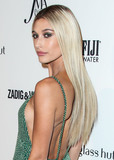 Front Row Photo - (FILE) Hailey Baldwin Reportedly Trademarks Married Name Hailey Bieber Hailey Baldwin is planning for her future as Mrs Justin Bieber The model staked her claim to the name Hailey Bieber by filing to trademark the moniker on Oct 10 It appears the model is intending on creating a clothing line under her married name since the purpose is listed as clothing in the application MANHATTAN NEW YORK CITY NY USA - SEPTEMBER 06 Model Hailey Rhode Baldwin wearing a Tommy Hilfiger dress and Lorraine Schwartz jewelry arrives at the Daily Front Rows 2018 Fashion Media Awards held at the Park Hyatt New York on September 6 2018 in Manhattan New York City New York United States (Photo by Xavier CollinImage Press Agency)