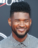 Usher Photo - LOS ANGELES CALIFORNIA USA - JULY 10 Singer Usher Raymond IV arrives at the 2019 ESPY Awards held at Microsoft Theater LA Live on July 10 2019 in Los Angeles California United States (Photo by Xavier CollinImage Press Agency)