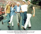 Adolph Green Photo - Writers Betty Comden  Adolph Green Do a Soft Shoe with Some of the Casts Members of There Revival of on the Town at the Delacorte Theatre in Central Park New City Exclusive Photo K20478jbe James Bevins Globe Phots Inc